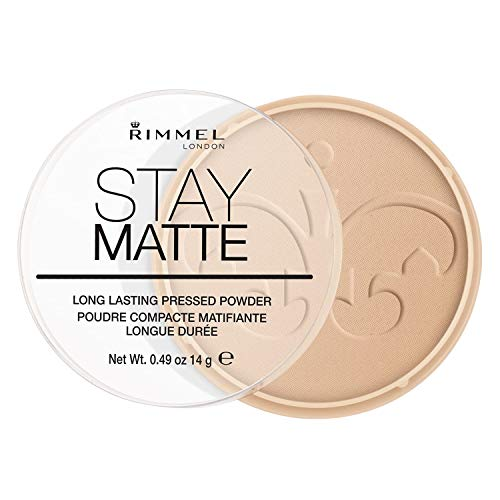 Rimmel London Stay Matte Pressed Powder Compact - 004 Sandstorm x1