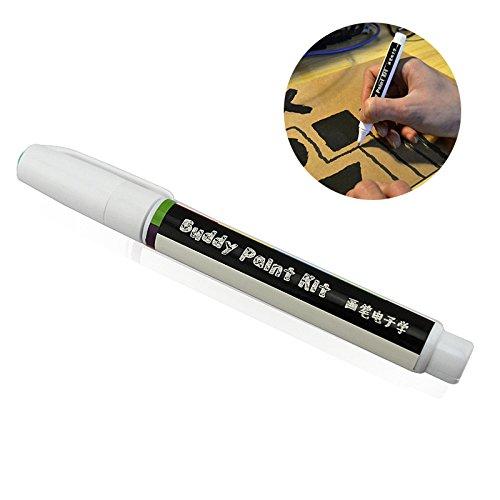 RETYLY Leitfaehiger Fueller elektronische Schaltung ziehen sofort magischer Stift Schaltung DIY Maker Student Kinder Bildung magische Geschenke (schwarz)