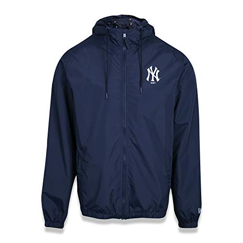JAQUETA CORTA VENTO (WINDBREAKER) NEW YORK YANKEES MLB PRETO VERMELHO VERDE MARINHO New Era