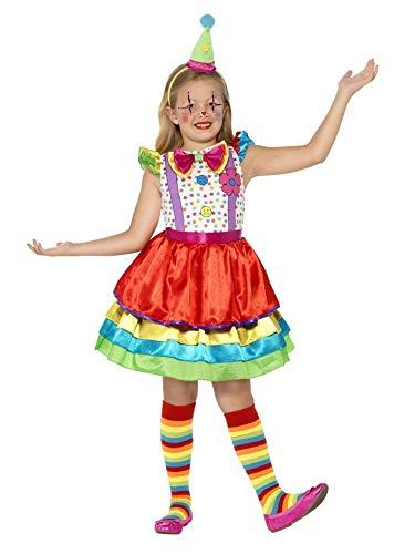 Smiffys Premium Clownsmädchen - 4-6 Jahre