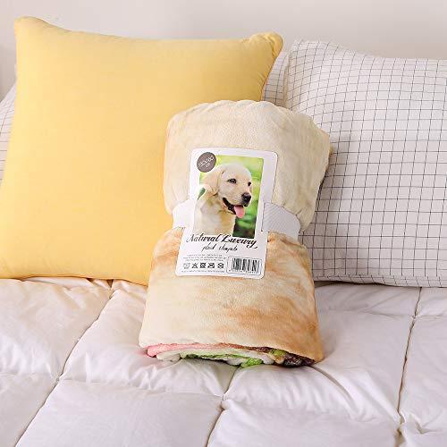 Liumenglin Bedruckte Decke Decke Warme Decke Hundedecke Katzendecke 150x200cm Grün