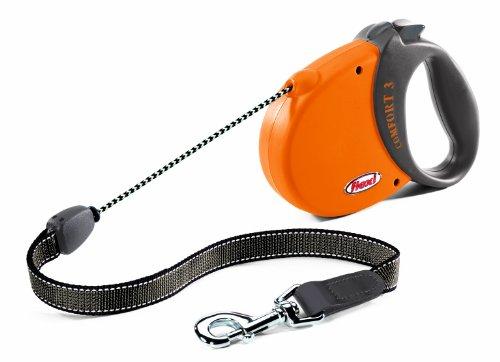 flexi Hundeleine Comfort Basic 3, Länge 5m, orange