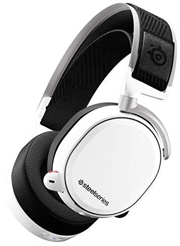 NLRHH Steelseries Arctis Pro Gamedac - Auriculares de Juego - Audio Certificado de Alta resolución - ESS Saber DAC Peng (Color : White, Size : Arctis Pro Wireless)