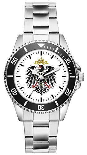 Reichsadler Adler Deutschland Geschenk Artikel Idee Fan Uhr 20197