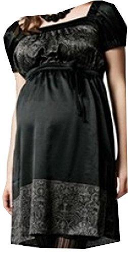 Umstandsmode Umstandskleid Schwangerschaftskleid NEU schwarz MAMA LICIOUS SALE Größe M