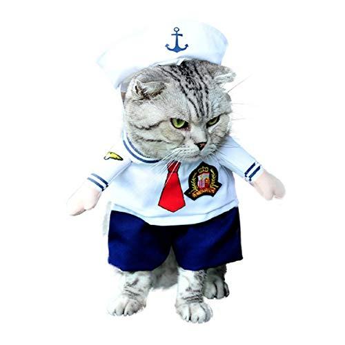 Kostuum - matroos - marine - kat - l