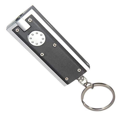 Auto sleutels Fakkel LED Sleutelhanger Sleutelhanger S x1 Licht Up Super Heldere LED Sleutel Fob Veiligheid Portemonnee Portemonnee LED Compact Licht Voor Sleutels Veilig En Veilig