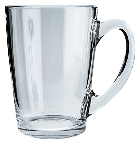 Luminarc ARC E9241 New Morning Bockbecher, Kaffeebecher, Kaffeetasse, 320ml, Glas, transparent, 6 Stück