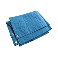 Heavy Duty Blue Tarpaulin Tarp Ground Sheet Waterproof Cover Camping Groundsheet All Sizes From 4 To 24ft / 1.2m To 7.3m… 29