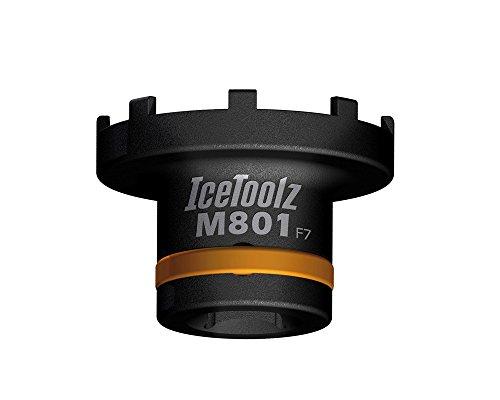 IceToolz Lockring Tool, Schwarz, M