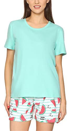 Merry Style Pijama Conjunto Camiseta y Pantalones Mujer MS10-177