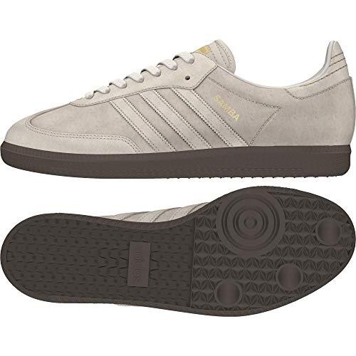 Adidas Samba FB, Zapatillas de Deporte Hombre, Beige (Lino/Lino/Dormet 000), 46 2/3 EU