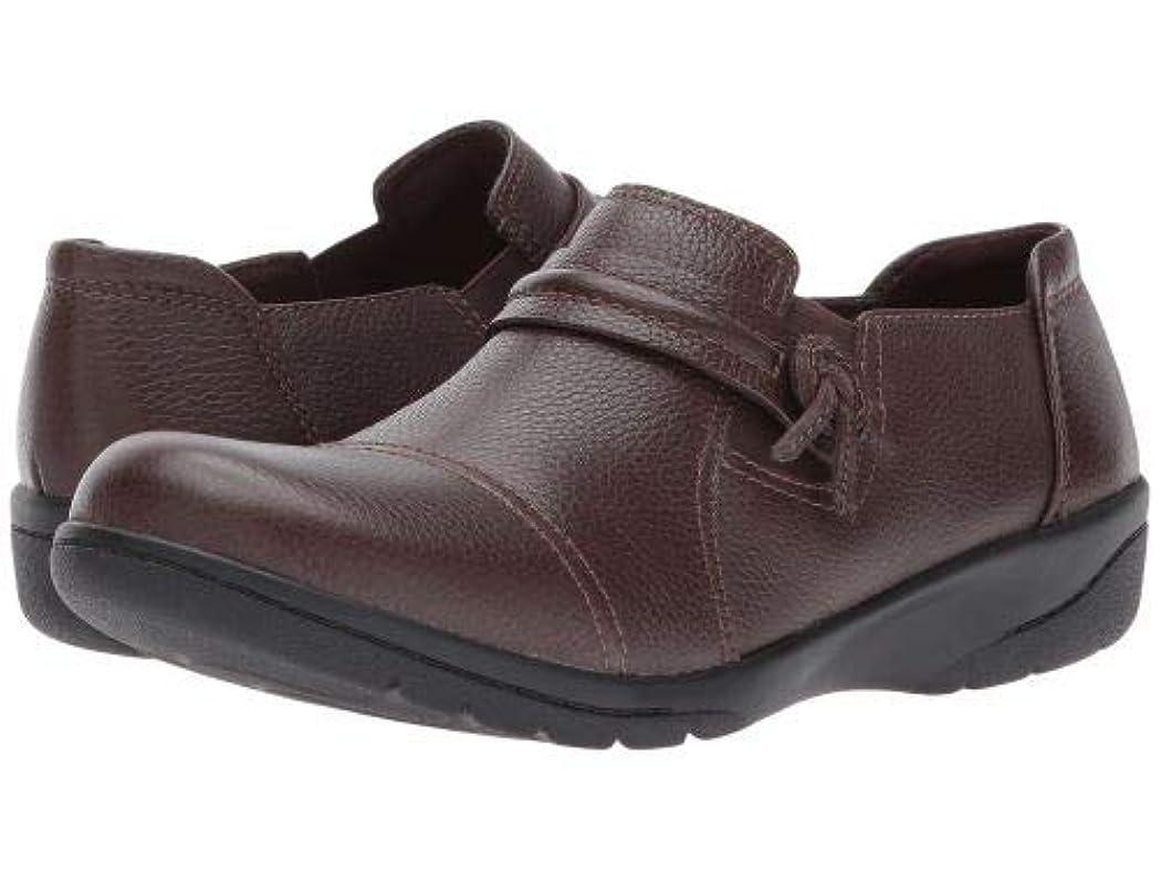 免除するハンディキャップずらすClarks(クラークス) レディース 女性用 シューズ 靴 ローファー ボートシューズ Cheyn Madi - Dark Brown Tumbled Leather [並行輸入品]