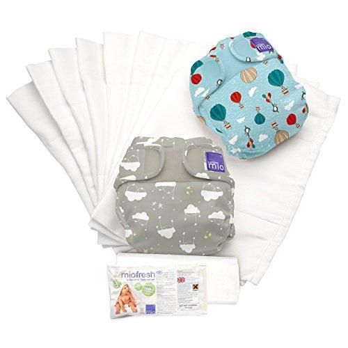 Bambino Mio, miosoft pack de couches lavables, voyageur endormi a, taille 2 (9kg+)