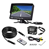 Heavy Duty Reversing Camera Kit with Night Vision and 7inch Monitor