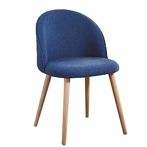 Genneric Einfacher Freizeit-Stuhl, Computer zu Hause Stuhl Leine Nordic Büro Rücken Faule Wanne-Stuhl Mid-Century-Sofa-Stuhl for Wohnzimmer Schlafzimmer Balkon Lounge Empfang Büro genneric