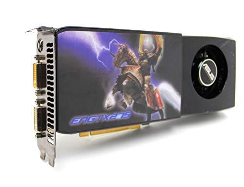 Asus GeForce GTX 275 - Tarjeta gráfica (memoria DDR3 de 896 MB, 2 puertos DVI, salida de TV, PCI-E Makel)