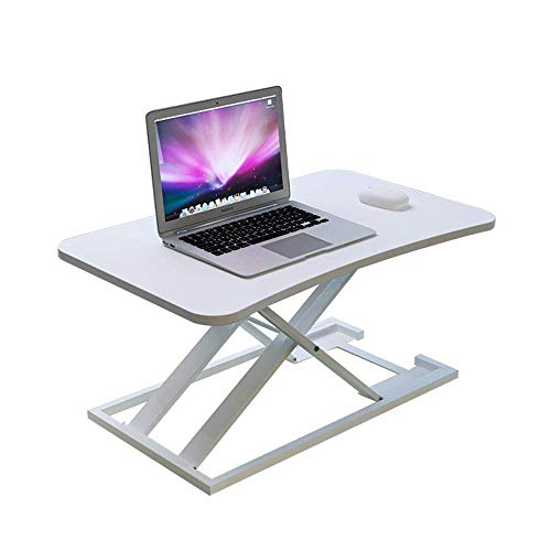 Desk Workstation Hoogte Verstelbare Monitor Stand Lift Computer Desk Computer Riser Screen Enhancement Desktop Lift Display montage Wit