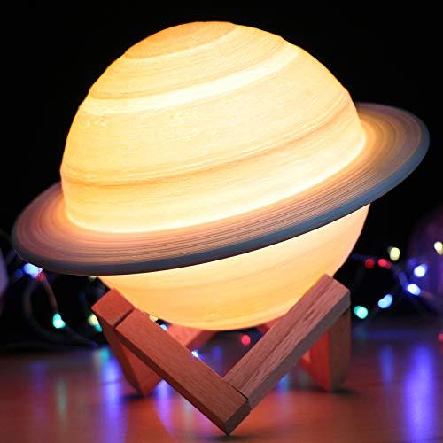 月ライト 間接照明 おしゃれ テーブルランプ 16色切り替え 無段階調光 タッチ調光 usb充電 ベッドライト インテリア照明 誕生日 プレゼント