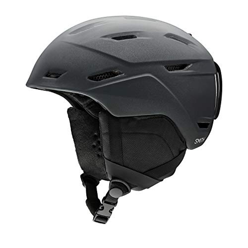 Smith Optics Mirage Women's Ski Snowmobile Helmet - Matte Black Pearl/Medium