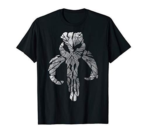 Star Wars Mandalorian Warriors Clan Shattered Skull T-Shirt