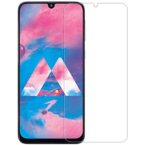 LINASHI Screen Protective Film, Tempered Glass Screen Protective Film Cover Compatible with Samsung Galaxy A10 A90 M10 M30 Compatible with Samsung Galaxy A50