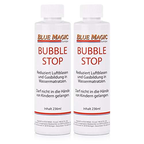 Blue Magic Bubble Stop für Wasserbetten 236ml - Reduziert Luftblasen (2er Pack)