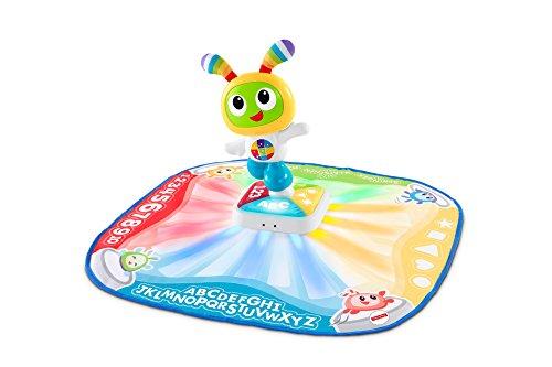 Fisher-Price Bebo Tapis de danse et de jeu, musical et interactif avec 2 Modes, version allemande, pour bébé de 9 mois et plus, DTB19