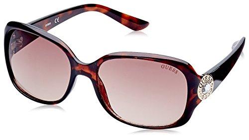 Guess Gf0285, Gafas de Sol para Mujer, Marrón (Havana), 57