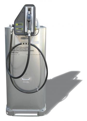 Hoftankstelle - Premium - Horn - 1000 Liter Dieseltank mit Pumpe
