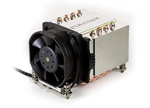Inter-Tech A-24 Procesador Enfriador - Ventilador de PC (Procesador, Enfriador, Zócalo AM4, AMD A, 6 cm, 1500 RPM)