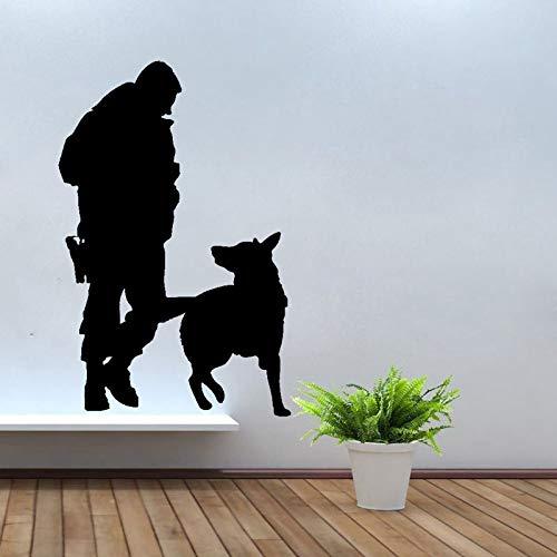 Magnetschild Milit/ärhundestaffel Bundeswehr Diensthund Sch/äferhund #A487