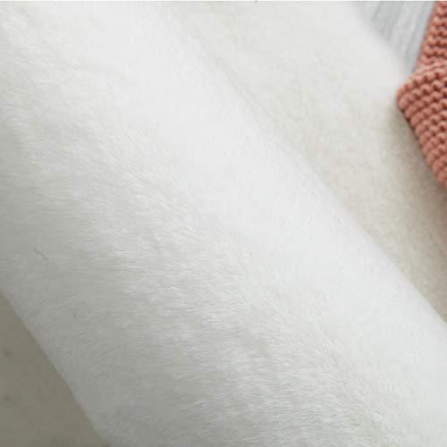 VOVTT Antideslizante Alfombra De Piel De Conejo Artificial,Niños Alfombra con Adecuada para Alfombra De Sala De Estar,Tapete para Cama,Dormitorio,Sofá,80cmx160cm