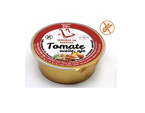 60 monodosis de 25g con tomate ajo y aceite - Para desayunos...