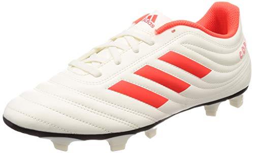 adidas Copa 19.4 FG, Herren Fußballschuhe, Weiß (Off White/Solar Red/Core Black), 42 EU (8 UK)