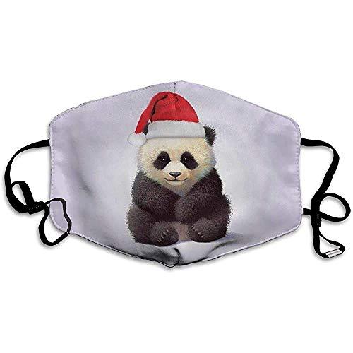 Staub Padna trägt Weihnachtsmütze Bedruckte waschbare Liebesfamilie Wiederverwendbare waschbare Gesichtsschutzhülle für den persönlichen Schutz