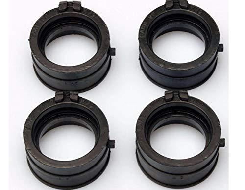 Jiuyue-shoes, FJY-PIÈCES, 4X Interfaz carburador Salida de colector de admisión Adaptador Insulator Ajuste for H-Onda CBR600F # PC25# 1991 1992 1993 1994 CBR 600F 600 F
