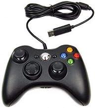 Controle Para Xbox 360 PC Com Fio Ergonômico Versátil Preto