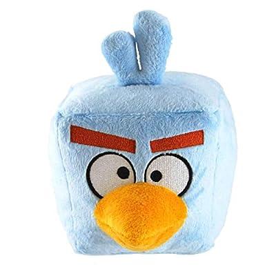 "Commonwealth Toys Angry Birds Space 5"" Basic Plush Ice Bomb Blue Bird"