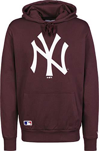 New Era Team Logo Hoody Neyyan Sweatshirt für Herren M Dunkelviolett