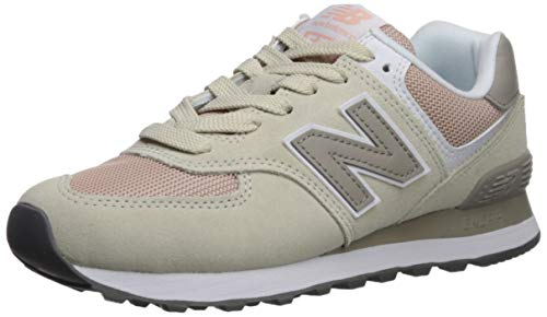 New Balance Damen 574v2 Sneaker, Pink, 40 EU