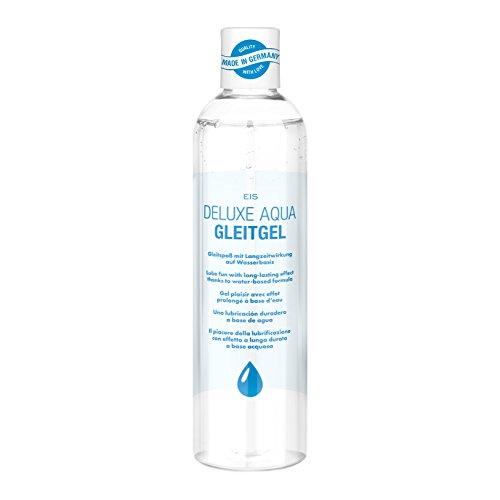 EIS, Lubricante Deluxe Aqua, efecto de larga duración de base acuosa, 300ml