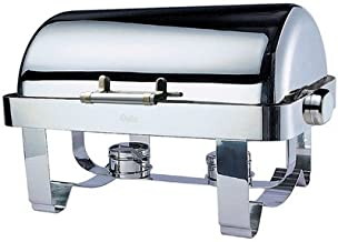 SMART Buffet Ware Odin Oblong Roll Top Chafing Dish with Stainless Steel Legs