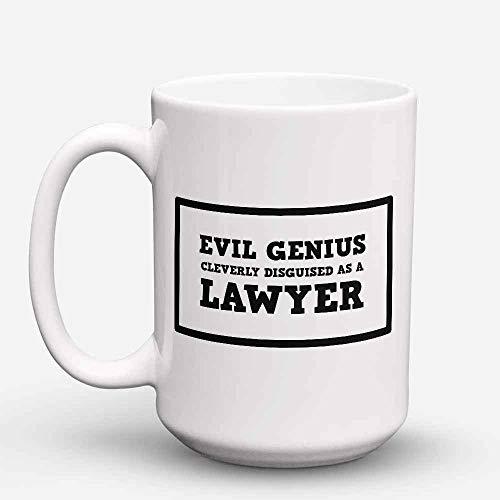 NA Taza de caf para Abogados - Taza de caf para Abogados - Regalo Divertido para Abogados - 'Disfrazado de Abogado Abogados - 11 oz