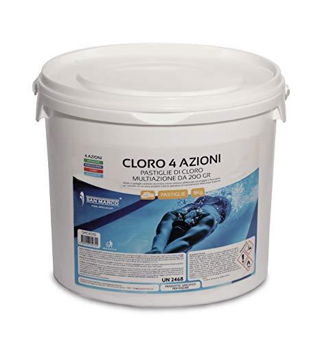 San Marco Pastiglie Cloro Multifunzione 4 azioni 5 kg