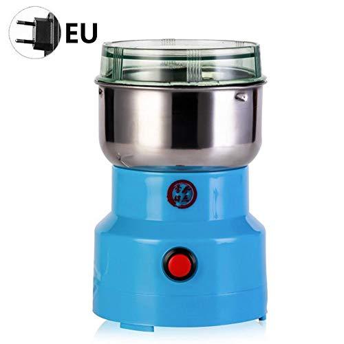 Oddity Macinacaffè elettrici con Lama da 150 W, macinacaffè elettrici per caffè, macinacaffè Multifunzione per caffè alle Erbe con Pepe, Blu