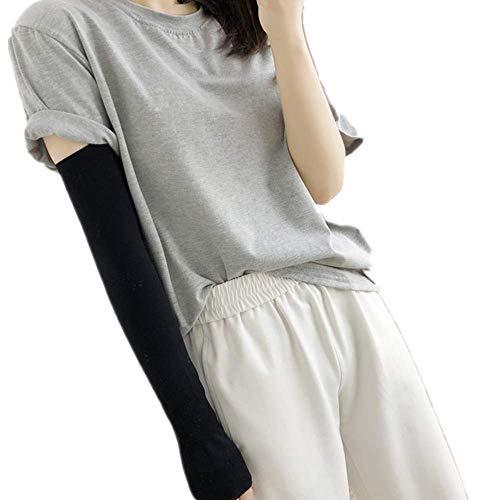 APCHY vrouwen UV-beschermhoes Koelhoes Armmanette geschikt voor basketbal golven voetbal paardrijden of zonwering (willekeurige kleur 2 paars)