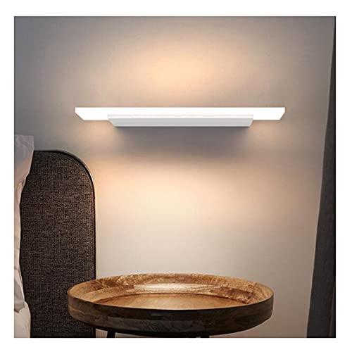 ZXQ Lámpara de Pared Luces de Espejo Impermeable Cuarto de baño Luces de Espejo de tocador Cuarto de baño Maquillaje Frontal, Corredor montado en la Pared Luces Decorativas, Warm Light