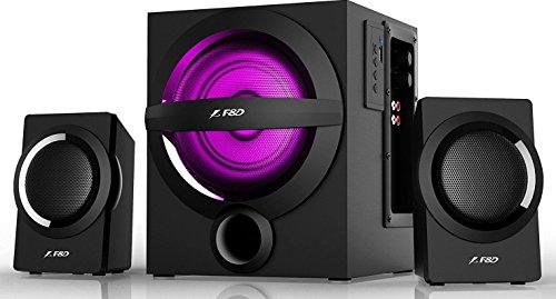 F&D A140X 2.1 Channel Multimedia Bluetooth Speakers (Black)