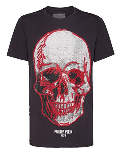 Philipp Plein Camiseta Cuello Redondo SS Skull